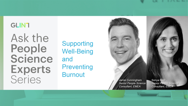 Well-being Insights to Support Your Employees