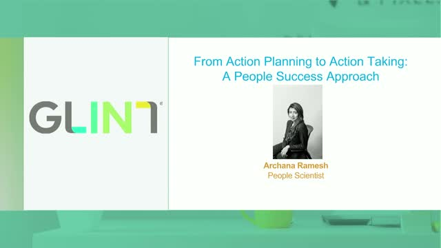 From Action Planning to Action Taking: A People Success Approach