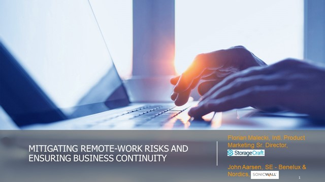 Mitigating Remote-Work Risks and Ensuring Business Continuity
