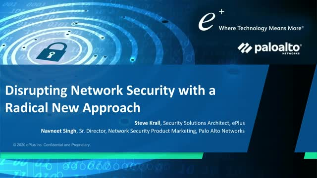 Disrupting Network Security with a Radical New Approach