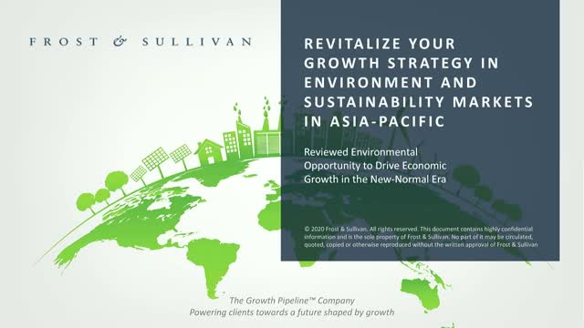 Revitalize Your Growth Strategy in Environment and Sustainability Markets