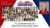 21 Competencies of a High Performing Sales Team