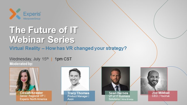 The Future of IT Webinar Series: Virtual Reality