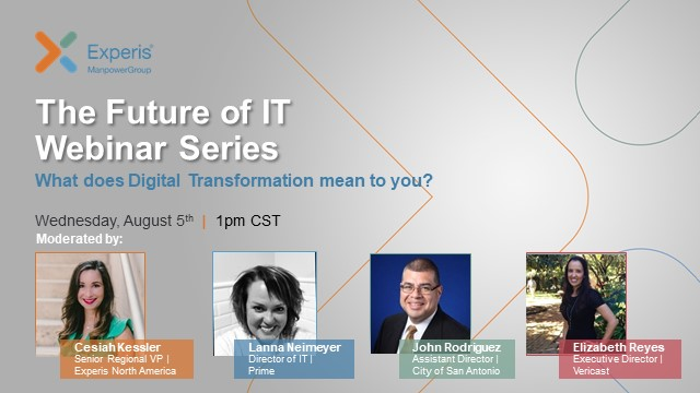 The Future of IT Webinar Series: What does Digital Transformation mean to you?
