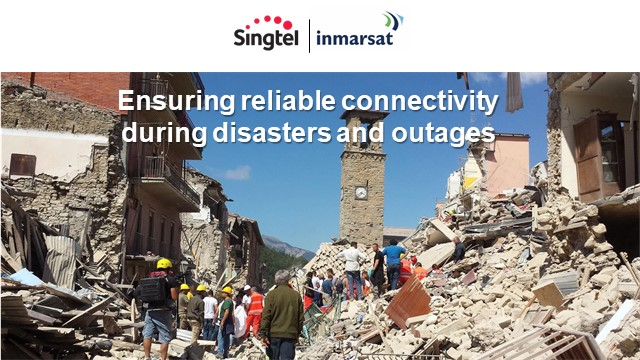Ensuring reliable satellite connectivity during disasters and outages