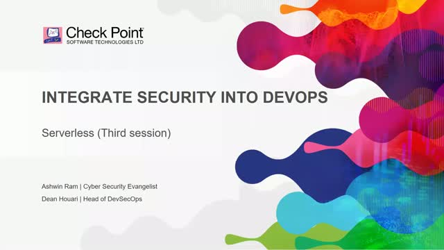DevOps Series: Code Centric Security - Serverless and beyond..