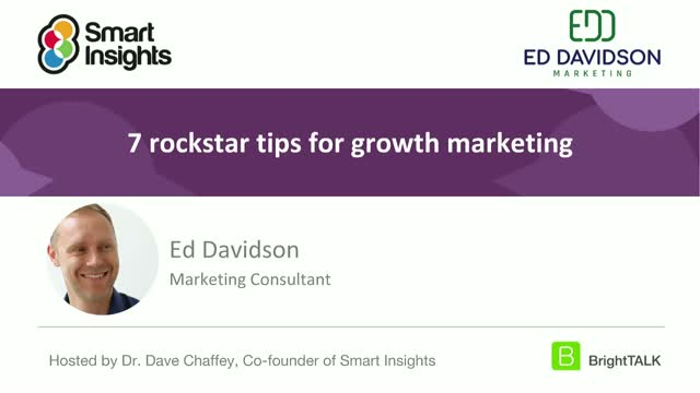 7 rockstar tips for growth marketing