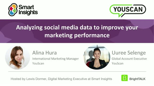 Analyzing social media data to improve your marketing performance