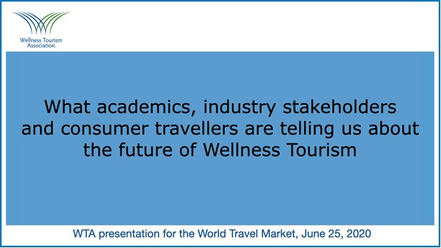 What industry stakeholders can tell us about the future of Wellness Tourism