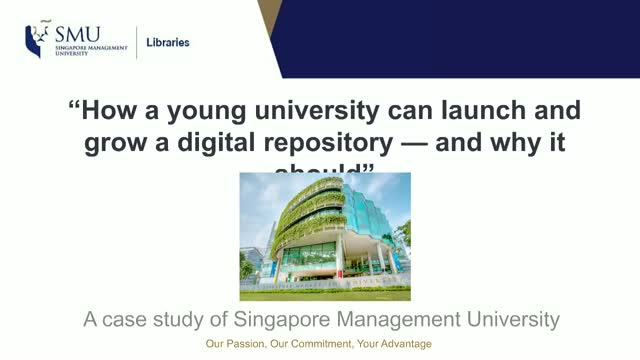 How a young university can launch and grow a digital repository