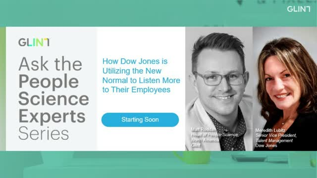 How Dow Jones is Utilizing the New Normal to Listen More to Their Employees