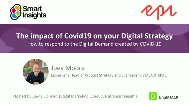The impact of Covid19 on your digital strategy
