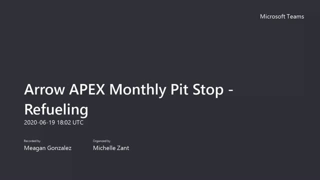Arrow APEX Program Update and HPE Discover News