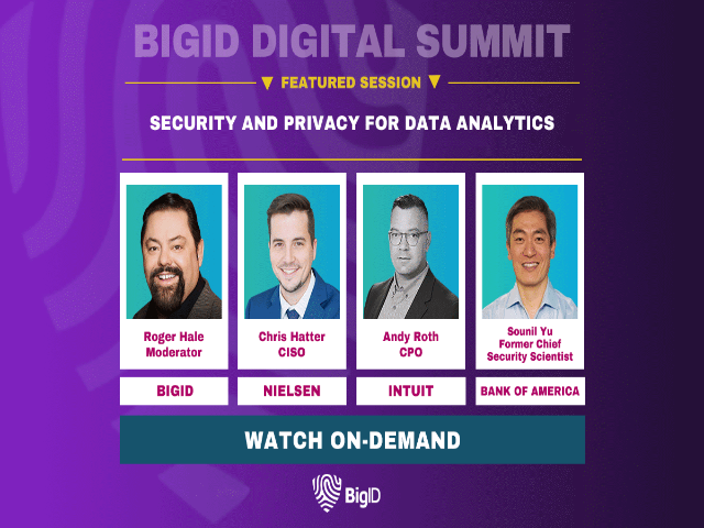 Security & Privacy for Data Analytics