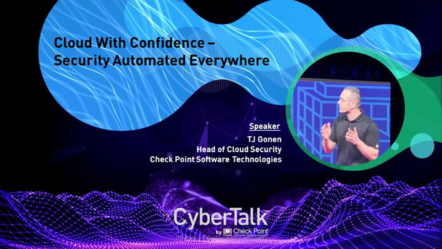 Cloud With Confidence - Security Automated Everywhere