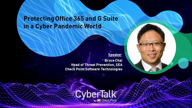 Protecting Office 365 and G-Suite in a Cyber Pandemic World