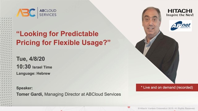 Looking for Predictable Pricing for Flexible Usage?