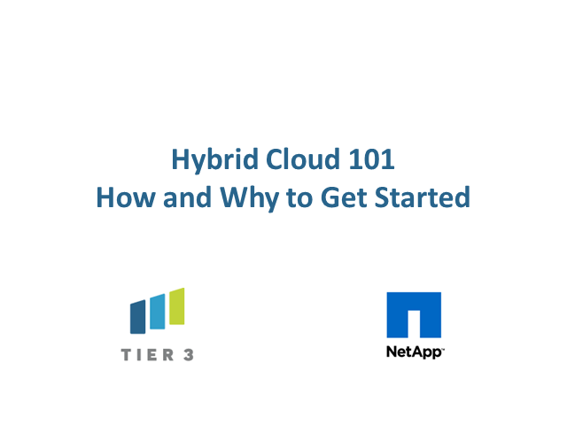 Hybrid Cloud 101 – What you should know