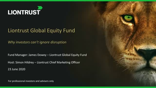 Liontrust Views - What is disruption and why investors can't ignore it