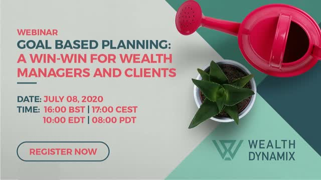 Goal based planning: a win-win for wealth management advisors and clients
