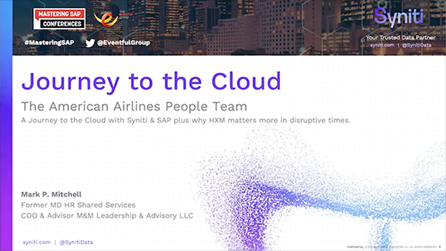 Journey to the Cloud - American Airlines