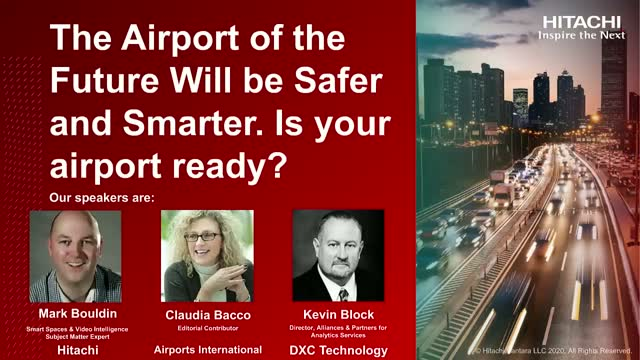 The Airport of the Future Will be Safer and Smarter. Is your airport ready?