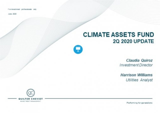 Quilter Cheviot Climate Asset Update