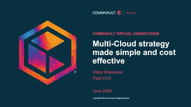 Multi-Cloud strategy made simple and cost effective