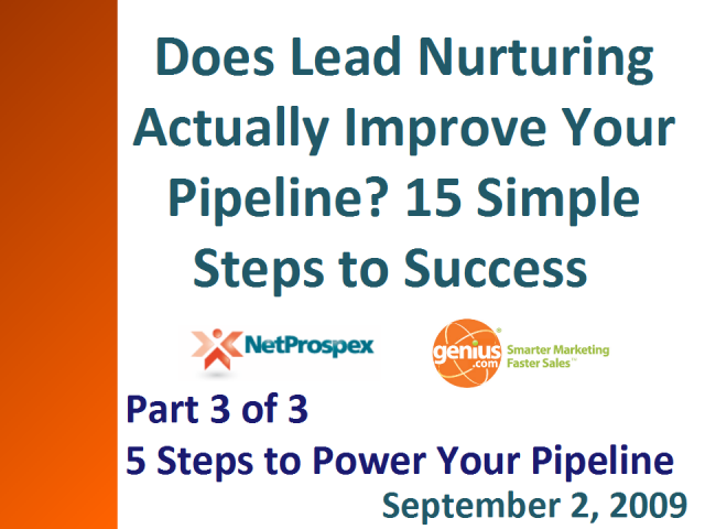 5 Simple Steps to Pump Up Your Sales Pipeline