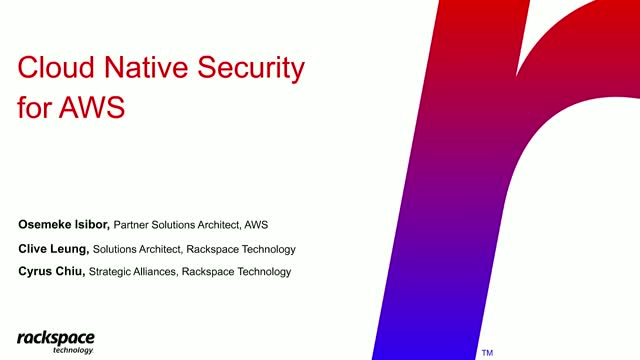 Cloud Native Application Security: Have You Covered All Your Bases? - APJ