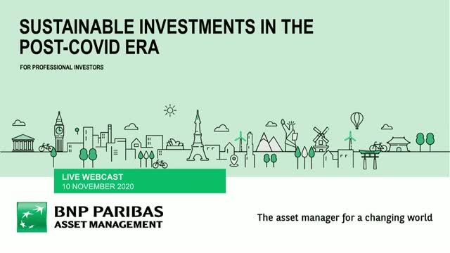 Sustainable investments in the post COVID era