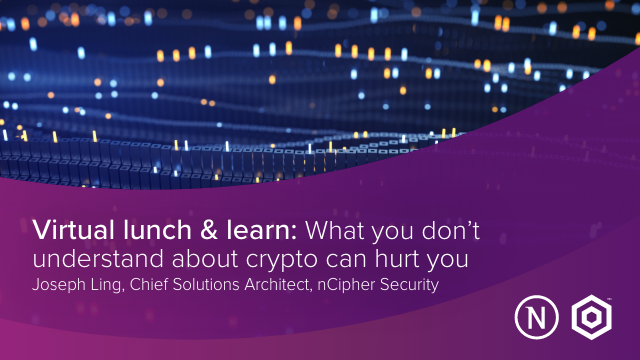Virtual Lunch and Learn: What you don't understand about crypto can hurt you