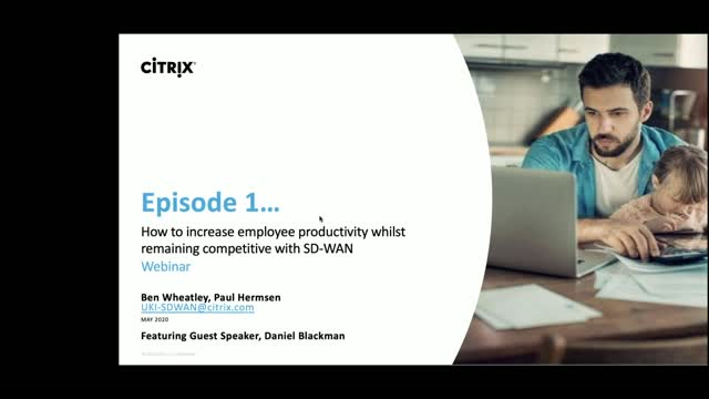 How to increase employee productivity whilst remaining competitive with SD-WAN