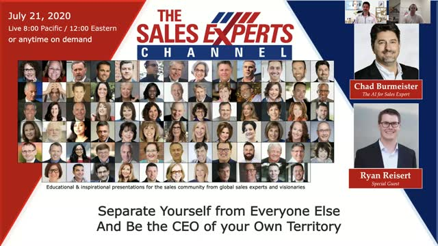 Separate Yourself from Everyone Else And Be The CEO of Your Own Territory
