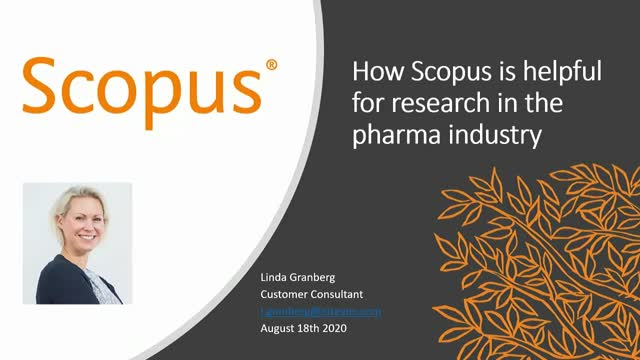 How Scopus is helpful for research in the pharma industry