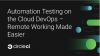 Automation Testing on the Cloud DevOps – Remote Working Made Easier