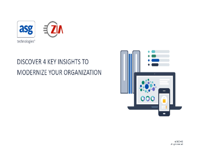Discover 4 Key Insights to Modernize your Organization