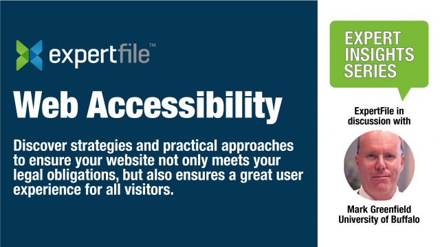 ExpertFile on Understanding Web Accessibility