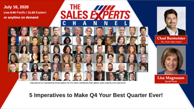 5 Imperatives to Make Q4 Your Best Quarter Ever!