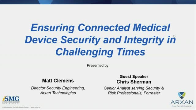 Protecting Connected Healthcare Applications and Intellectual Property