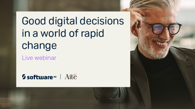 Good digital decisions in a world of rapid change