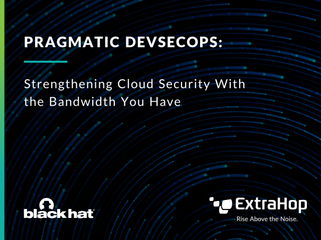 Black Hat: Pragmatic DevSecOps - Cloud Edition