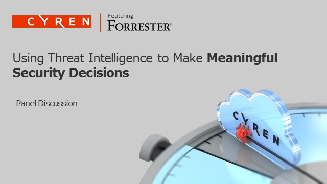 Using Threat Intelligence to Make Meaningful Decisions
