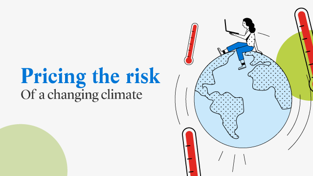 Pricing the risk of a changing climate
