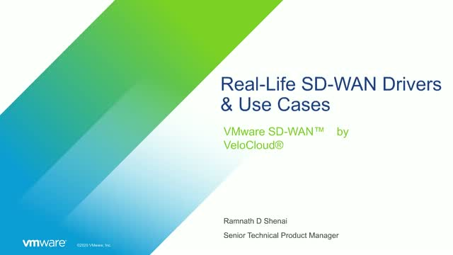 Real-life SD-WAN Drivers & Use Cases to Enable Enterprise Digital Transformation