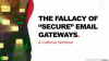 """Still getting Phished? Uncovering the Fallacy of """"Secure"""" Email Gateways."""