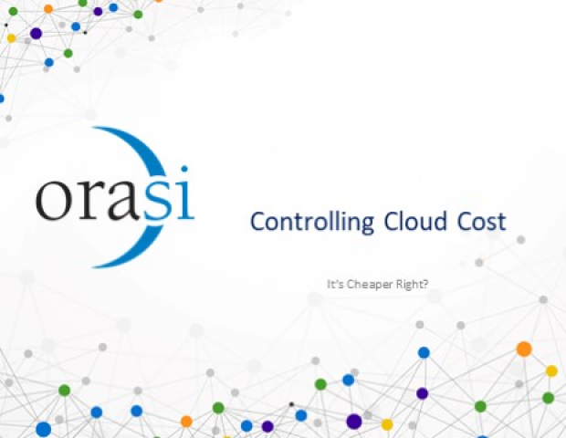 Controlling Cloud Cost – It's Cheaper right?