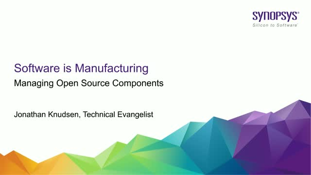 Software Is Manufacturing