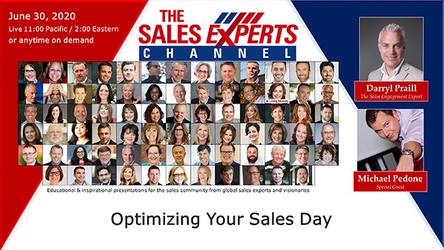 Optimizing Your Sales Day