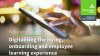 Digitalisation of recruitment and onboarding - Digital Roundtable Series